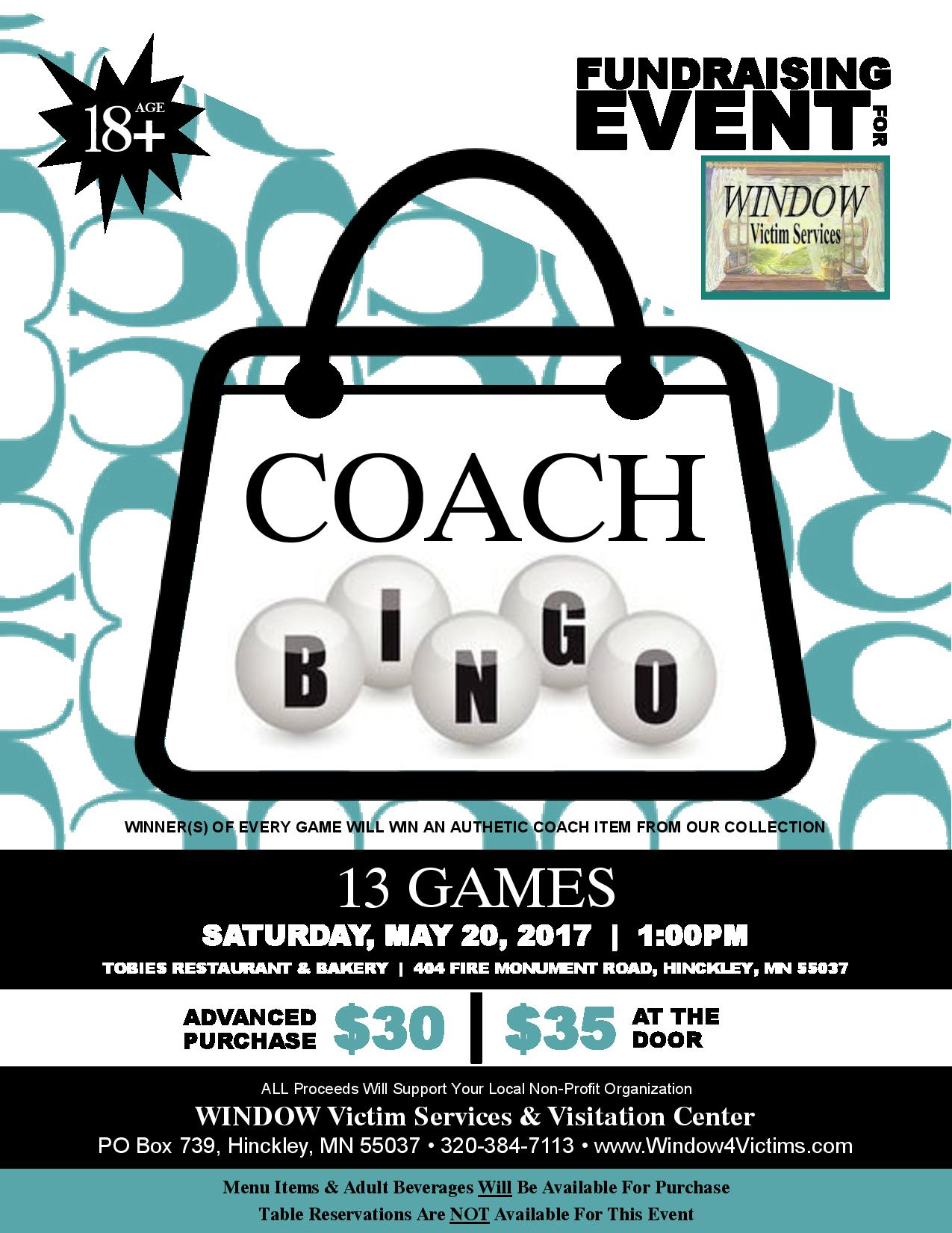 COACH Bingo Fundraising Event Flyer - Smaller 18+-page-001