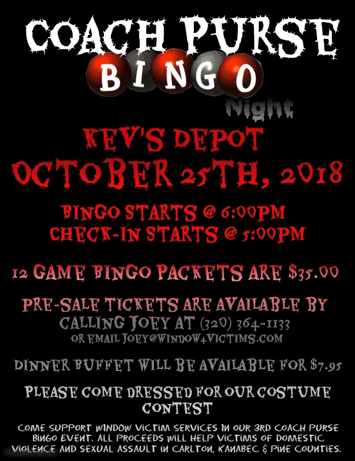 Coach Bingo Oct 2018